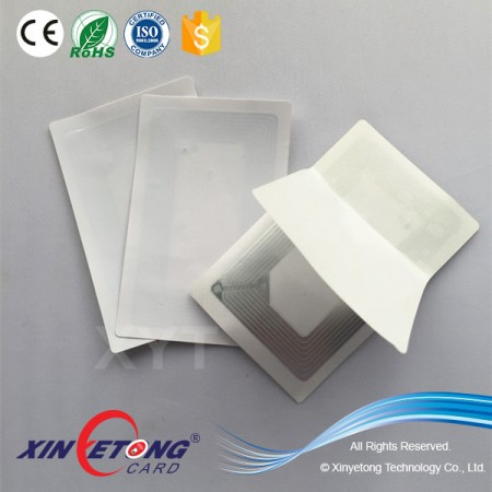13.56MHz NFC RFID Sticker For Adhesive Layer