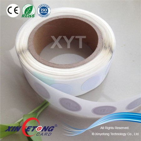 13.56MHz Roll NFC Tag Sticker Without Printing