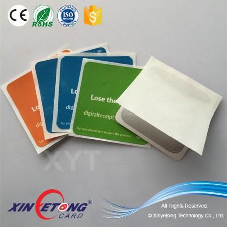 HF/UHF RFID Reader & NFC Sticker