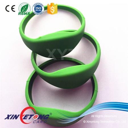 Enviroment Friendly Silicone RFID Wristband