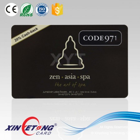 13.56MHZ RFID Smart Card With SL2 ICS20 01 (ICODE SLI) Chip