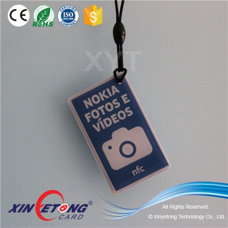RFID NFC Epoxy Tags/Waterproof RFID NFC Tag- Classic 1K S50