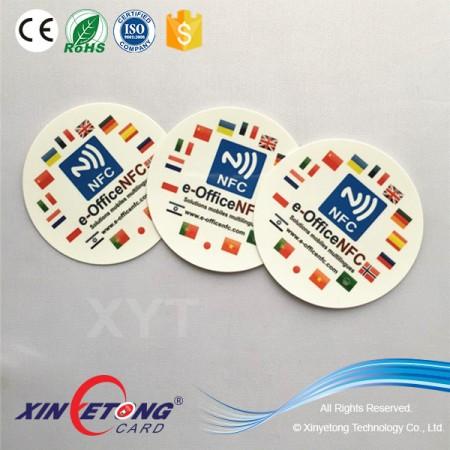 13.56 MHZ NFC RFID Sticker