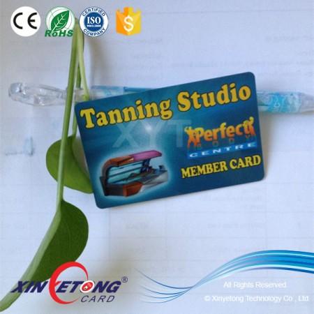 13.56MHZ HF 144byte Printable Ntag213 NFC Plastic Card