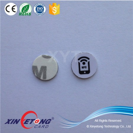 13mm Ultralight Printable PVC Coin Tag