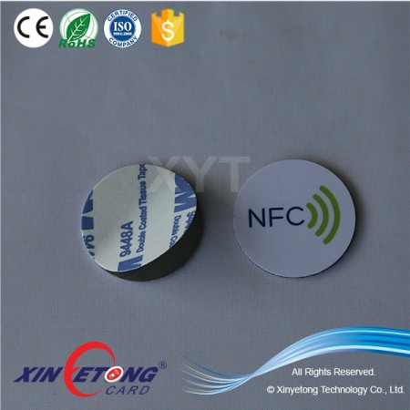 30mm Anti-metal Printable Hard PVC TAG Sticker -Ultralight Chip