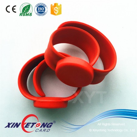 Contactless IC Chip Cheap Custom Wristbands