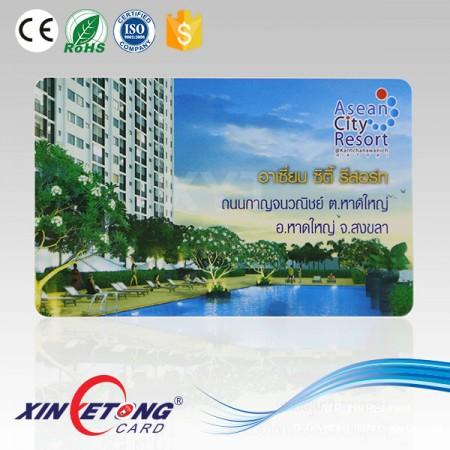 13.56MHZ ISO15693 ICODE SLI Access Control RFID Smart Card