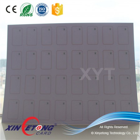 ISO15693 Icode Sli 13.56MHZ Contactless RFID Smart Card Inlay