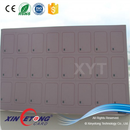 ISO15693 Icode Sli PVC RFID Card Inlay Card Manufacture Making