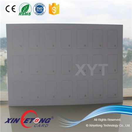 ISO15693 Icode Sli Inlay For RFID Smart PVC Card