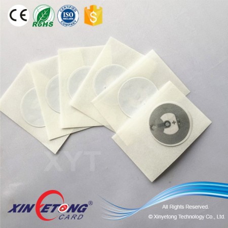 Circle 20mm Ntag203 Smallest Size NFC Wet Inlay