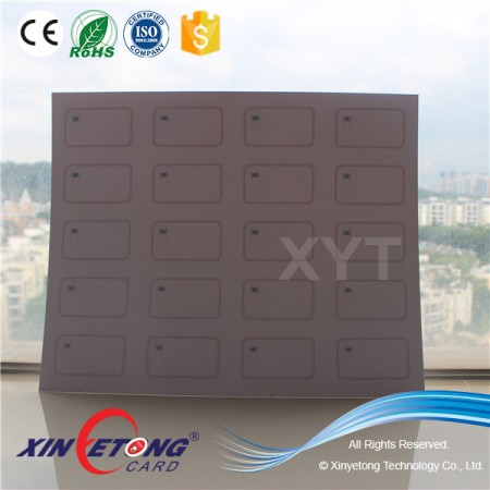 ISO15693 Icode Sli 13.56MHZ RFID Inlay For Card making