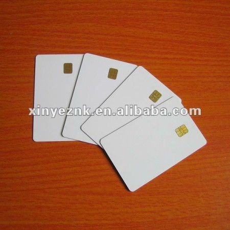 blank AT88SC102/AT88SC1604 contact ic card