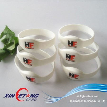 Access Control UHF Alien H3 RFID Wristband