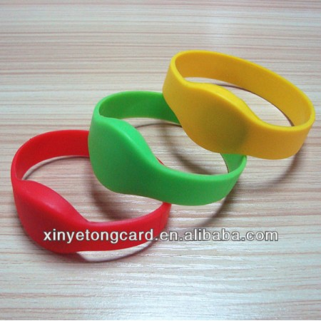 Custom NFC Wristbands S50/F08/Ntag203