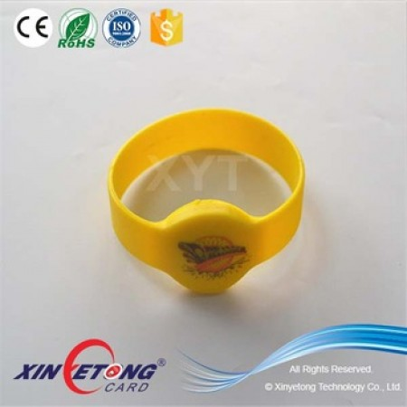 Dia75mm MF1k Admission Bracelets 5 color printing