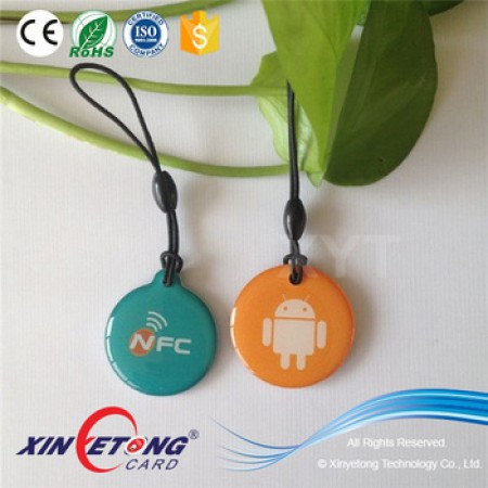ISO14443A Type2 NTAG213 NFC Epoxy Tag For Payment