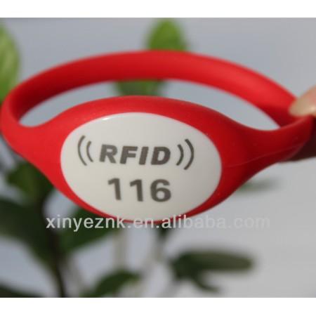 Logo Printed EM4200 125KHZ Sport RFID Wristband