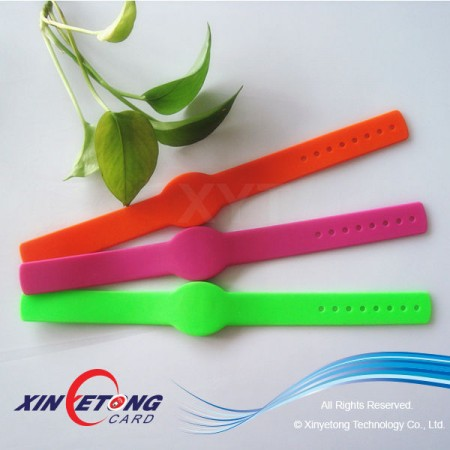 NFC Wristband Adjustable Ntag203/I Code Sli/Ultralight
