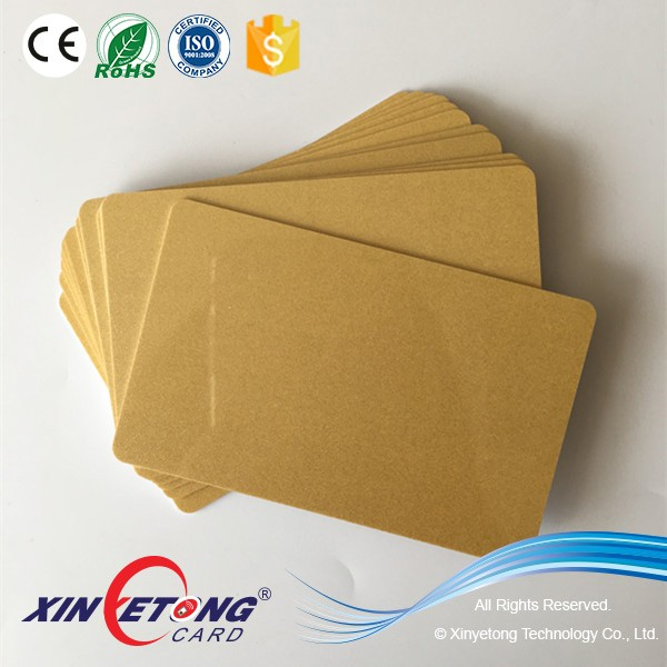 Gold-Metallic-Background-Thermal-Printing-Plastic-PVC-Card-Blank-BlankPlasticCar
